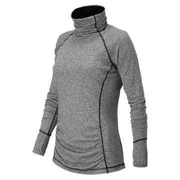 New Balance Beacon Pullover, Black Heather
