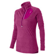 Performance Merino Half Zip, Azalea