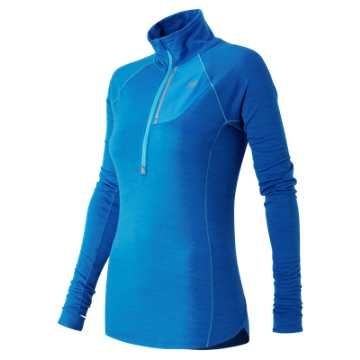 New Balance Performance Merino Half Zip, Sonar
