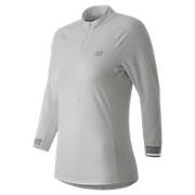 Performance 3/4 Sleeve Top, White