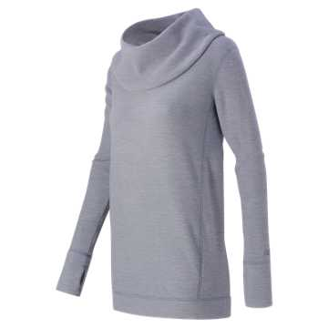 New Balance Cozy Tunic Pullover, Daybreak Heather
