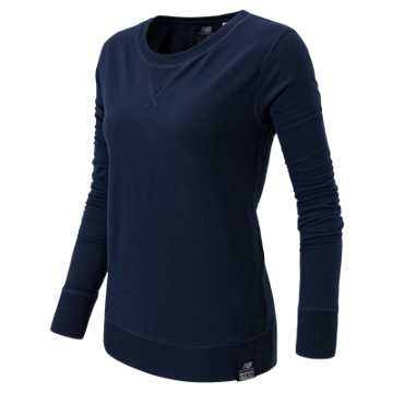 New Balance Crew Neck Sweatshirt, Navy