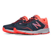 New Balance WT590-v1 Total Running, Grey with Pink