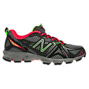 New Balance 610v2, Black with Diva Pink
