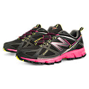New Balance 610v3, Black with Pink Glo & Neon Yellow