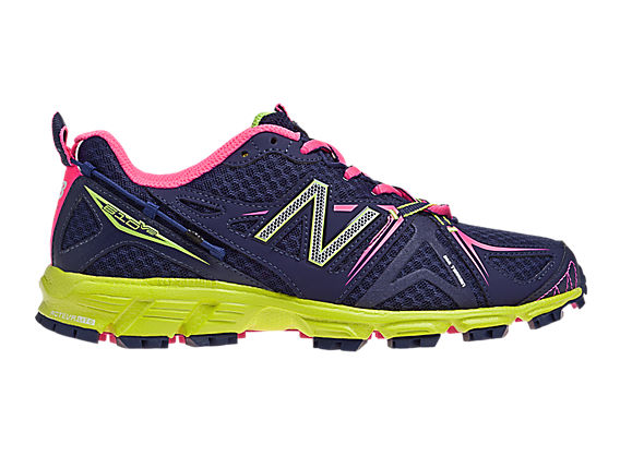 New Balance 610v2, Purple with Neon Yellow & Hot Pink