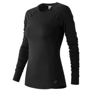 Trinamic Long Sleeve Top, Black