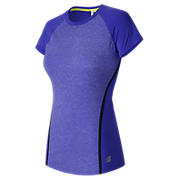 Trinamic Short Sleeve Top, Spectral Heather