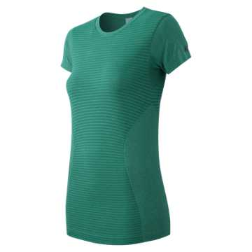 New Balance M4M Seamless Short Sleeve Tee, Galapagos Heather