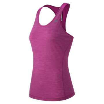 New Balance Performance Merino Tank, Azalea