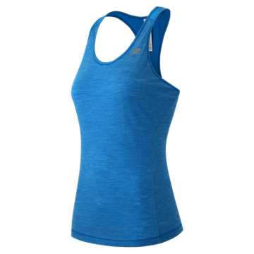 New Balance Performance Merino Tank, Sonar