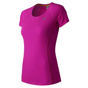New Balance NB Ice Short Sleeve, Azalea