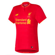 New Balance LFC Womens Home SS Jersey, High Risk Red