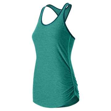 New Balance Perfect Tank, Aquarius Heather