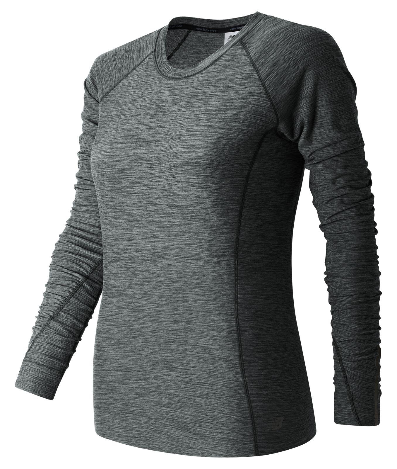 New Balance In Transit Long Sleeve Womens Grey