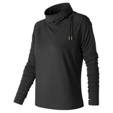 New Balance Comfy Pullover, Black