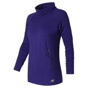 New Balance M4M Seamless Cable Pullover, Aviator