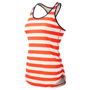 New Balance J.Crew Printed Perfect Tank, Fireball with Pearl