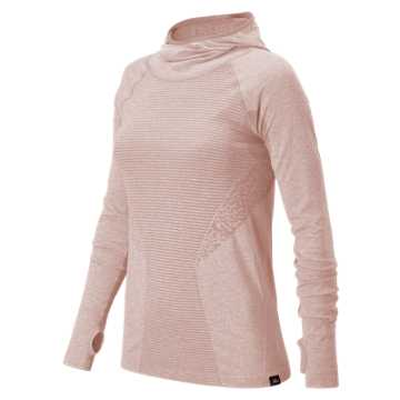 New Balance J.Crew M4M Seamless Hooded Pullover, Charm