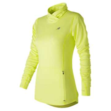 New Balance Beacon Pullover, Firefly Heather