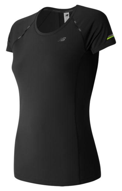 New Balance 63223 Women's NB Ice Short Sleeve | WT63223BK