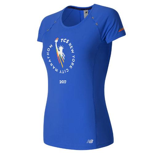 New Balance : NYC Marathon NB Ice Short Sleeve : Women's Performance : WT63223VVCT