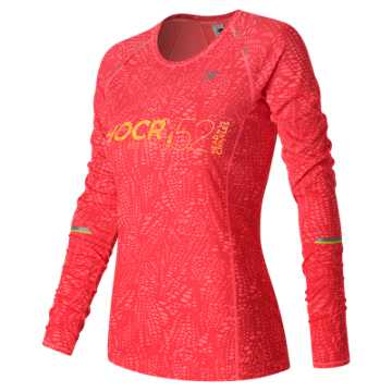 New Balance HOCR NB Ice Long Sleeve, Guava Print