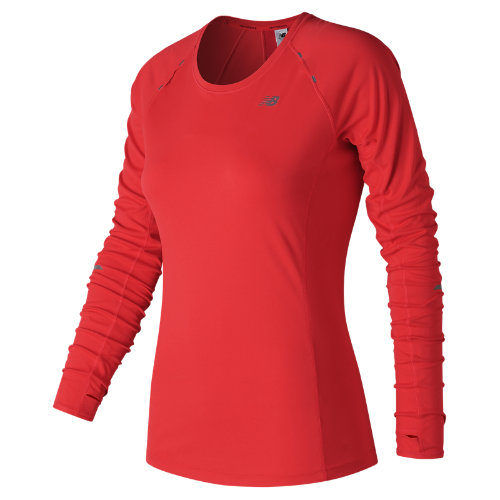 New Balance NB Ice Long Sleeve Girl's All Clothing - WT63224ENR