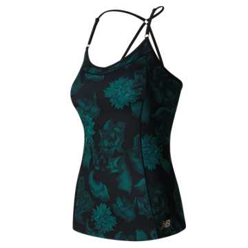 New Balance Dream Tank, Black with Castaway