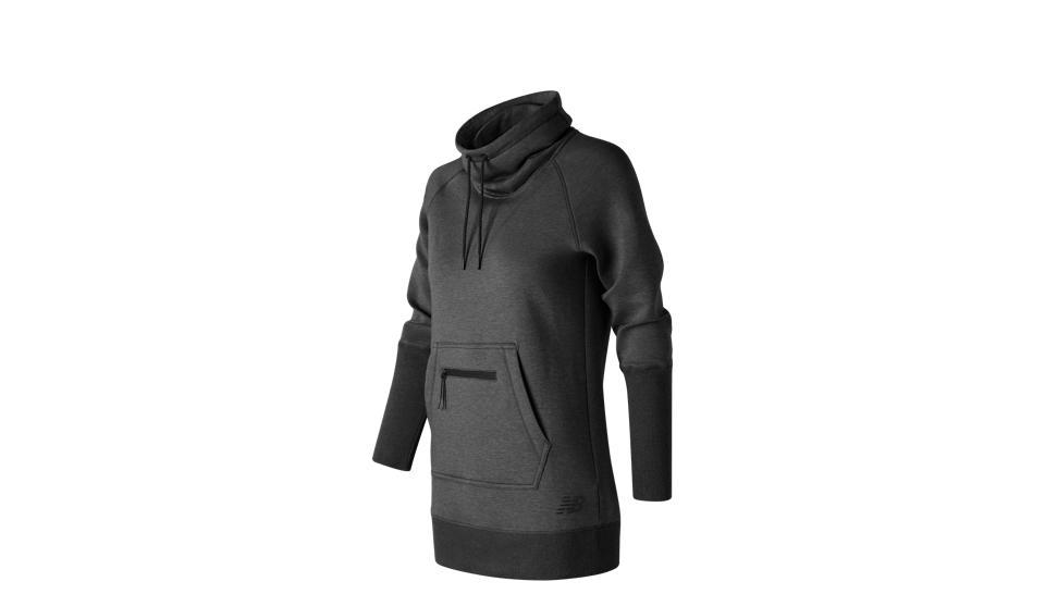 New Balance Sport Style Tunic, Charcoal Heather