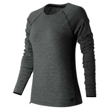 New Balance Sport Style LS Shirt, Charcoal Heather