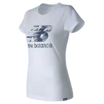 New Balance Sketch Tee, White