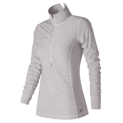New Balance In Transit Half Zip Girl's Clothing Outlet - WT71102SAH