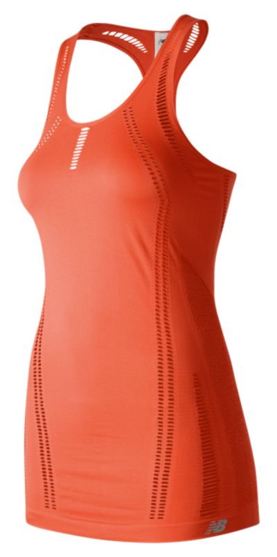New Balance 71109 Women's M4M Seamless Breathe Tank | WT71109SRE