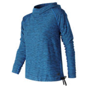 New Balance In Transit Hoodie, Electric Blue Heather