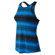NB Layer Tank, Electric Blue with Black