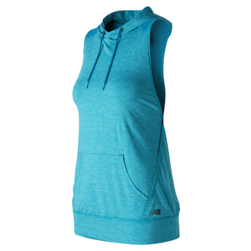 New Balance : Hooded Tank Pullover : Women's Performance : WT71145DZH