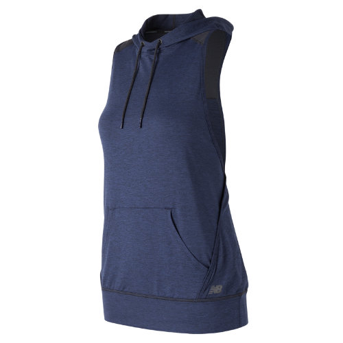 New Balance : Hooded Tank Pullover : Women's Performance : WT71145PGH