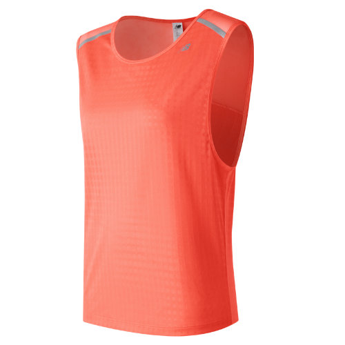 New Balance D2D Run Sleeveless - Sunrise (Taille L)