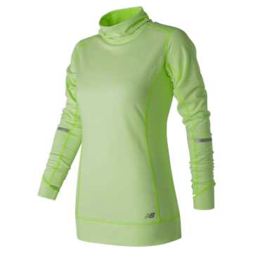 New Balance Stripe Tunic, Lime Glo Heather