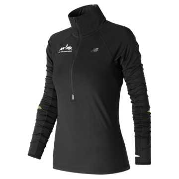 New Balance Run for Life Impact Half Zip, Black