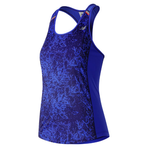 New Balance NB Ice Printed Tank Girl's All Clothing - WT71223FER