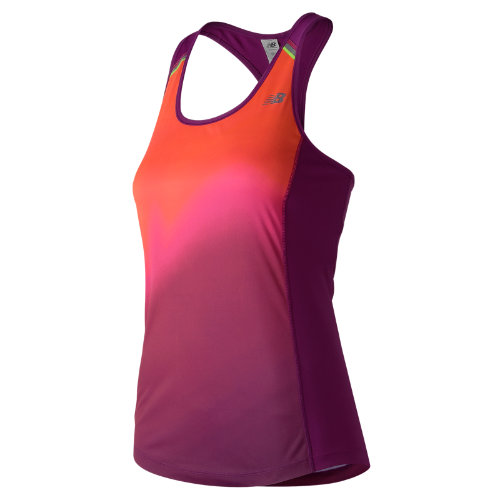 New Balance : NB Ice Printed Tank : Women's Performance : WT71223IMB