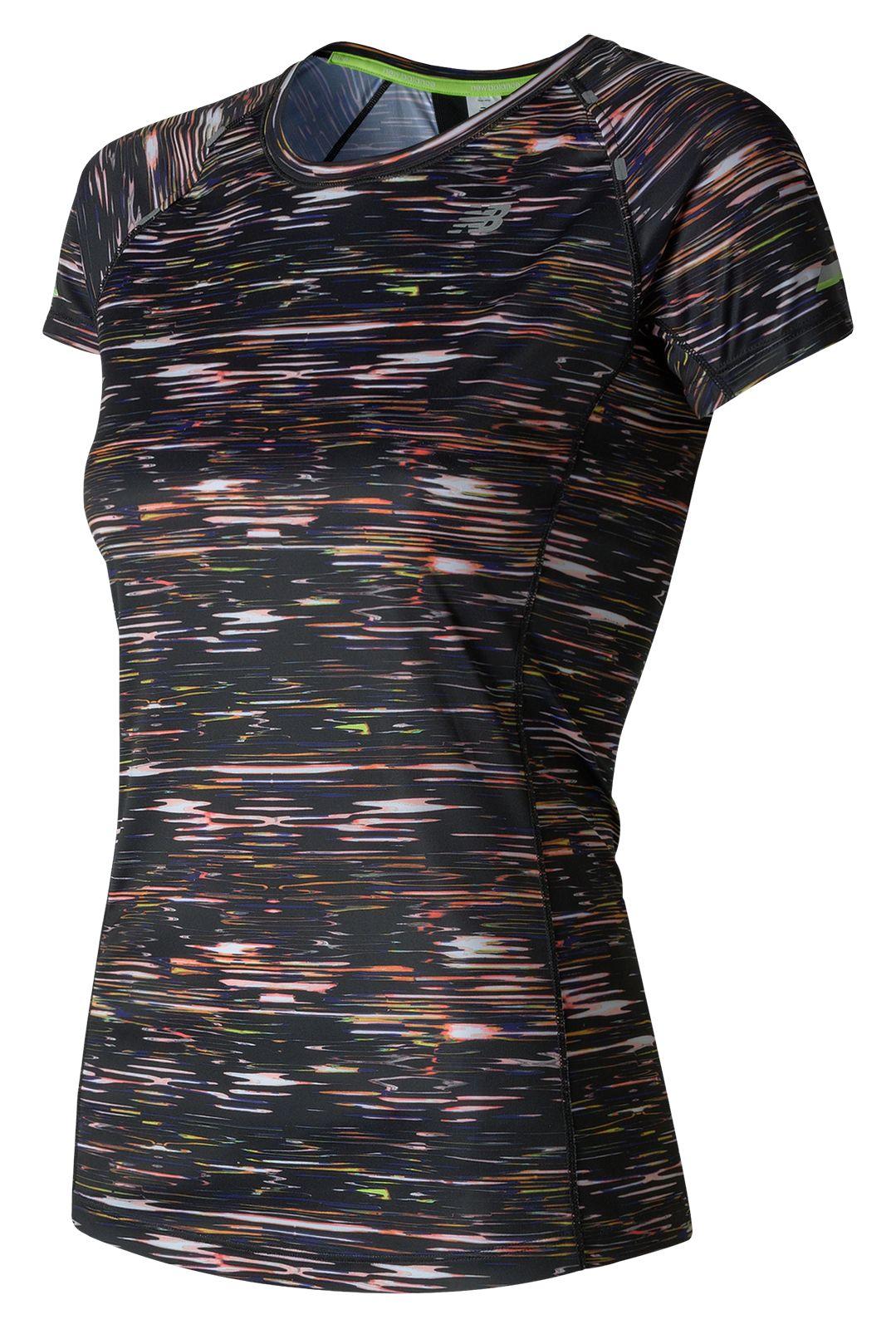 New Balance : NB Ice Short Sleeve Print : Women's Performance : WT71224MIS