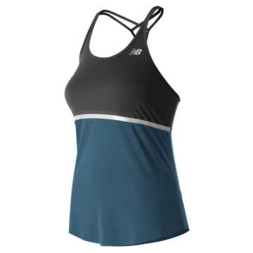 New Balance NB Ice Hybrid Tank, Black with Tornado