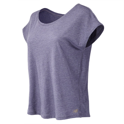 New Balance : Cotton Tee : Women's Apparel Outlet : WT71450DCH
