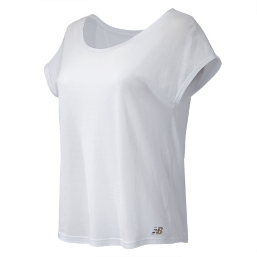 New Balance : Cotton Tee : Women's Apparel Outlet : WT71450WT