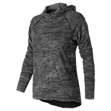 New Balance Hatha Hoodie, Black Heather