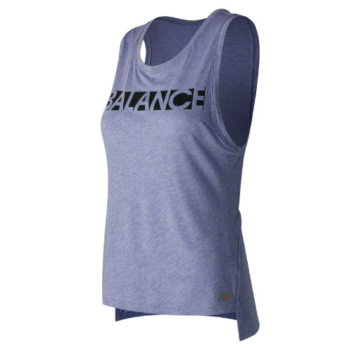 New Balance : Cotton Graphic Tank : Women's Apparel Outlet : WT71471DCH