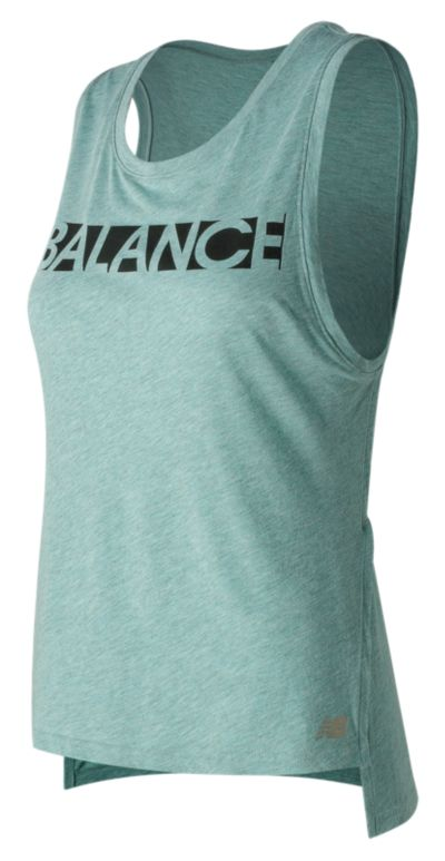 New Balance 71471 Women's Cotton Graphic Tank | WT71471SBT